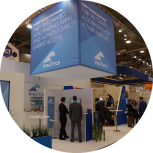 VisoTech stand at E-world 2018